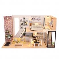 DIY 미니어처 하우스 - 브라운 스톤