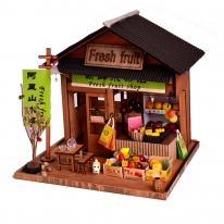 DIY 미니어처 우드 스토어 - 과일가게