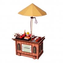 DIY 미니어처 우드 포차 - BBQ
