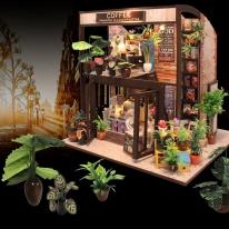 DIY 미니어처 풀하우스 - 커피하우스