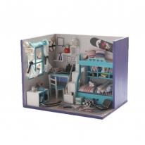 DIY 미니어처 하우스 - 2층침대방