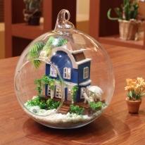 DIY 미니어처 볼 - 에메랄드 하우스