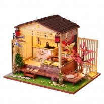 DIY 미니어처 하우스 - 벚꽃스시