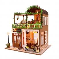 DIY 미니어처 풀하우스 - 레인보우 카페