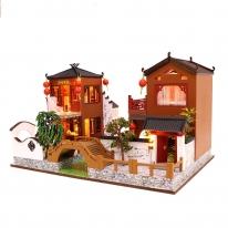 DIY 미니어처 풀하우스 - 중국 운하