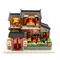 DIY 미니어처 풀하우스 - 홀리 하우스