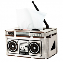 DIY 3D 티슈케이스 입체퍼즐 - 라디오