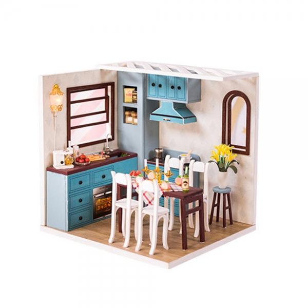 DIY 미니어처 코지 하우스 - 주방
