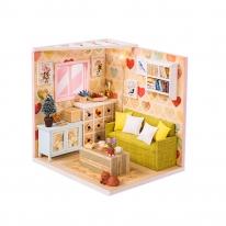 DIY 미니어처 코지 하우스 - 거실