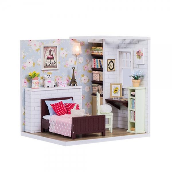DIY 미니어처 코지 하우스 - 침실
