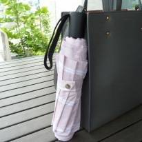 CM 3단 더블 스트라이프 수동 우산 예쁜 우산