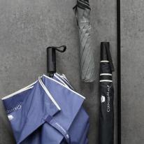 CM 2단 폰지 바이어스 자동 우산