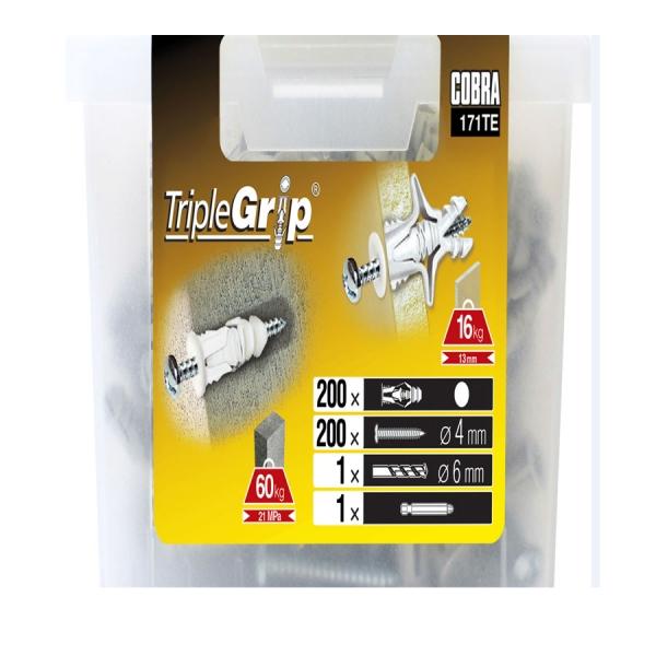 석고보드앙카  트리플그립 - TRIPLEGRIP