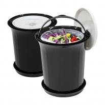 [국내제작] 아이디어상품 악취없는 음식물쓰레기통 外