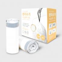 끈 있는 분리수거 비닐 20L(100매) 2P