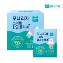 모나리자 스마트 항균 클리너 티슈 50매 1개 개별포장 손소독제