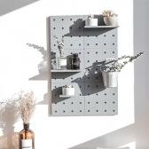다용도 DIY 조립식 타공판 인테리어 벽걸이선반