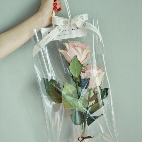 프로포즈 이벤트 꽃 선물 포장지 비닐 10개입