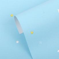[새로고침]만능풀바른벽지 합지 C45076-2 스타 블루
