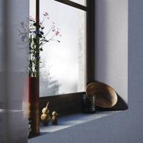 [새로고침]풀바른벽지 실크 SH15067-6 새벽의안개 딥블루그레이