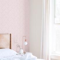 [새로고침]만능풀바른벽지 실크 G57171-2 리프 핑크