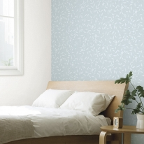 [새로고침]만능풀바른벽지 실크 G57181-3 리브즈 블루