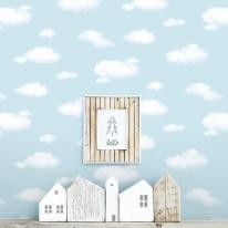 [새로고침]만능풀바른벽지 실크 H5029-1 구름 코튼스카이
