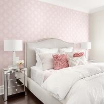 [새로고침]만능풀바른벽지 실크 H5039-1 벨라 핑크