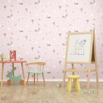 [새로고침]만능풀바른벽지 실크 H5047-1 안젤라 핑크