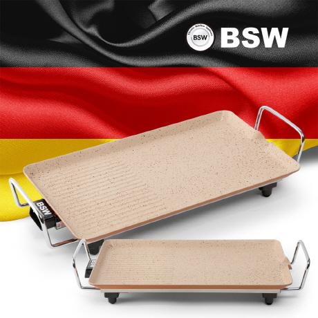 BSW 마블코팅 와이드그릴 48cm
