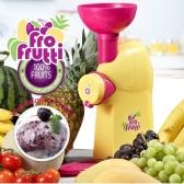 TV홈쇼핑 방송상품 미국브랜드 노스텔지아 천연 과일 아이스크림 제조기