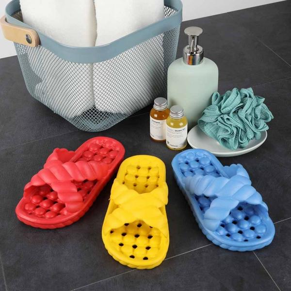 복스난 주니어 물빠짐 욕실화(블루,옐로우,레드)