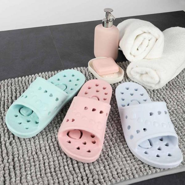 EVA 맘무트 앞트임 욕실화(핑크,블루,민트)