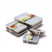 키친아트 피앙세 27종 스텐 냉동 보관용기(6종 세트)