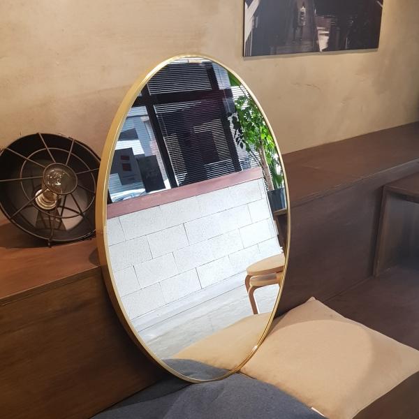 아트벨라 골드 타원형거울 600x800