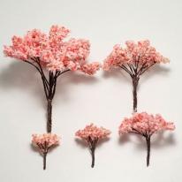 포레스 벚꽃 나무모형 10종 골라담기 / 장식 미니어쳐