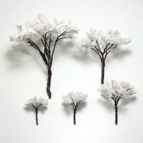 포레스 겨울 나무모형 5종 골라담기 / 건축모형재료
