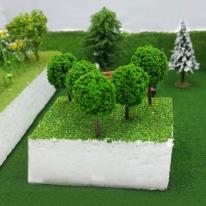 포레스 조경재료 4cm 모형나무 / 건축모형재료