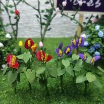 포레스 안수리움 2p세트 꽃모형