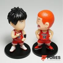 포레스 차량용 슬램덩크 피규어 세트 (강백호/서태웅)