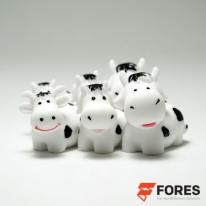 포레스 미니 젖소가족 6개세트