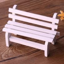 포레스 테라리움 미니피규어 백색의자 장식소품
