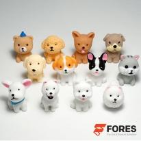 포레스 DIY재료 애완견 강아지 동물 피규어 12개 세트