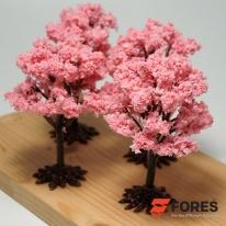 포레스 스탠드형 벚꽃 나무모형