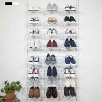 까사마루 매직 천장고정 신발장 24칸