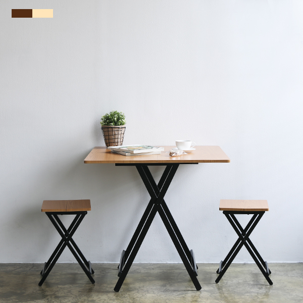 까사마루 오드리 접이식 테이블 세트