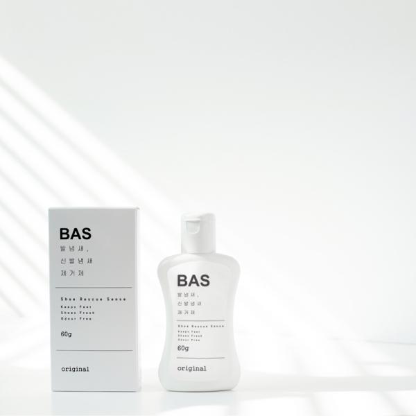 [배드에어솔루션] BAS 발냄새 제거제 슈레스큐센스