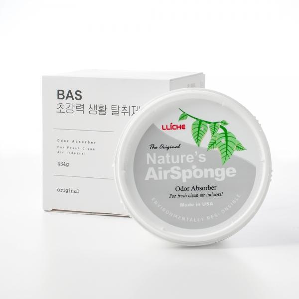 [배드에어솔루션] BAS 탈취제 454g