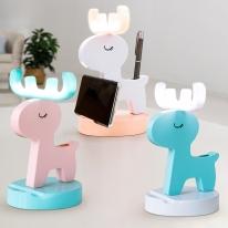 레토 충전식 무선 LED 사슴 무드등 핸드폰거치대 LML-DH08