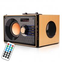 레토 레트로 무선 블루투스스피커 LBT-W04S 우퍼 FM라디오